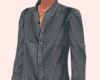 Grey Button Up.