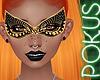 My Orange Jeweled Mask