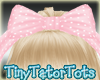 Kids Pink Hair Bow