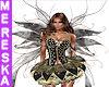 Anais Black Fairy Wings