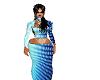 blue kool dress