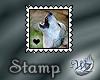 Animal Stamp - Wolf