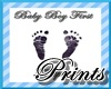 Baby Boy 1st Footprints