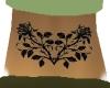 Black Rose Tramp Stamp