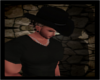 (J)Black Cowboy Hat 2