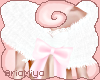 ☾ Pink layerable Fur