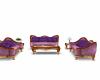 Special Pink Velvet Sofa