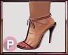 P! Plum Tie Up Heels