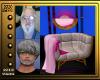 (V)Pink Single Lounge