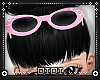 !D! Pink Heart Glasses