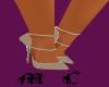 coach vintage brwn heels