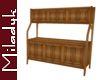 MLK Wood Large Cabinet