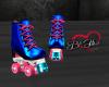 Roller Skates -Blue