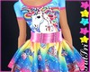 Tie Dye Unicorn Dress