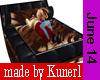 !K! Tiger FUR Bed No Pos
