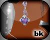 [bK]Earrings{purple}