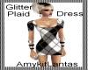 Glitter Black n White Pl