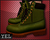 [YH] Green boots