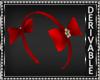 Gingerbread Bow Headband