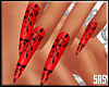 SAS-Nails Lace Red