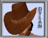 !!D Brown Stetson Hat