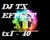 DJ TX EFFECT vb (M/F)