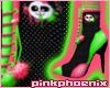 LoveSick Panda Stilettos
