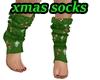 Fluffy Xmas Socks