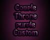 Couple Throne Purple01