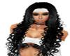 ~S~ Long Black Curls H/B