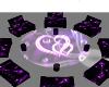 Purple Club Table