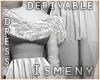 [Is] Fur Short Dress Drv