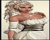Medieval Princess Blond Lady