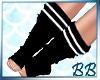 Black/White Tall Socks