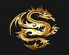 Gold Dragon Chair