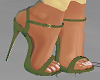"""Matching Green 5"""" Heels"""