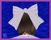 [E] Purple Stripe Bow