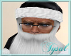 Santa Hat Beard