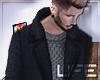 | Coat + Knit Crew |