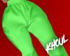 K| Green Joggers
