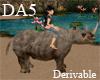 (A) Safari Rhino