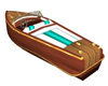 Vintage Speed Boat