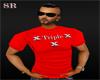 {SR}Triple x T-Shirt