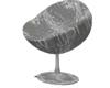 Chrome Love Chair
