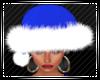 Blue 2 Santa Hat