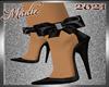 !a Madie Black Bow