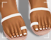 ṩJae Sandals White