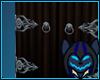 Dragon Hindge DoorSilver