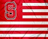 NC Wolfpack Flag