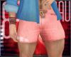 Dennim pink shorts